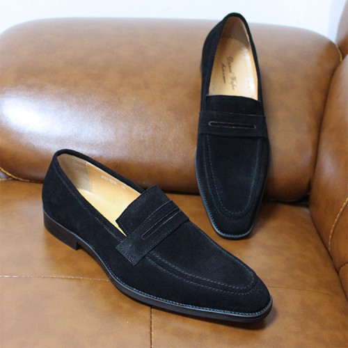 New Business Fashion Dress Genuine Leather Shoes