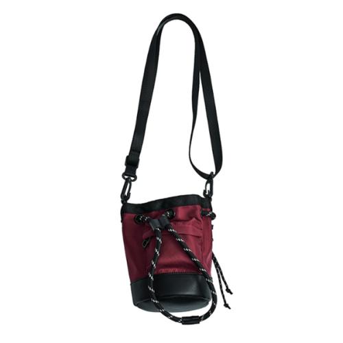Men's New Drawstring Mini Bucket Bag