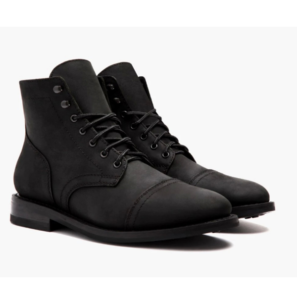 Low Heel Lace-up Men's Low-Top Martin Boots