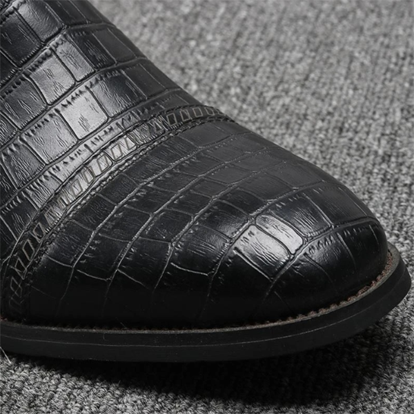 New Low-heeled Men's Low-top Chelsea Boots