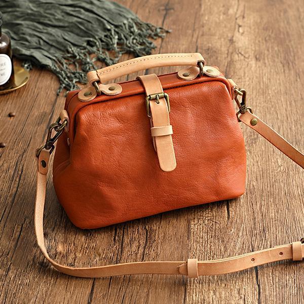 Handmade Premium Leather Retro Handmade Bag
