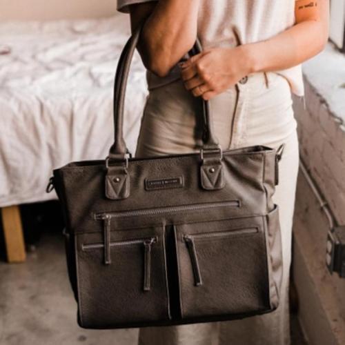 Vegan Carry-All Tote Bag