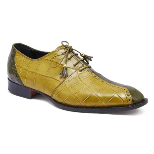New Low-heel Color Matching Business Men's Single Shoes
