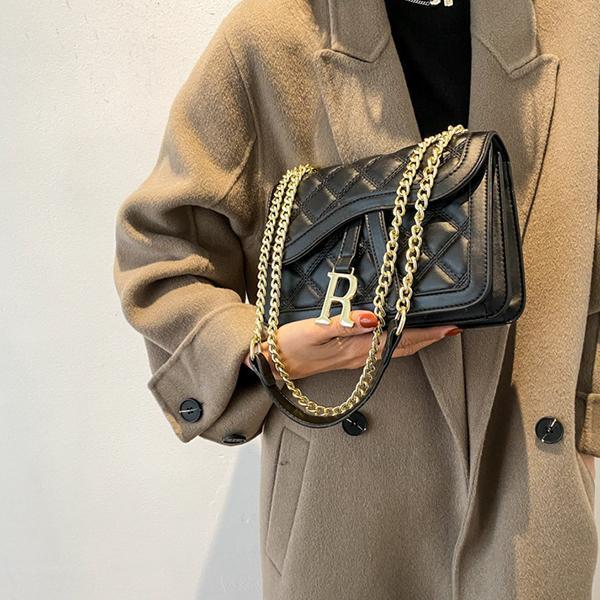 Ladies Temperament Fashion Simple Messenger Bag