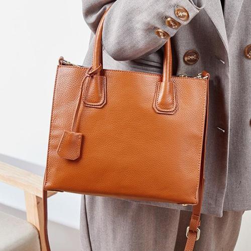 Vintage Big Crossbody Tote Bag