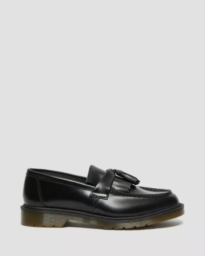 SMOOTH LEATHER TASSLE LOAFERS