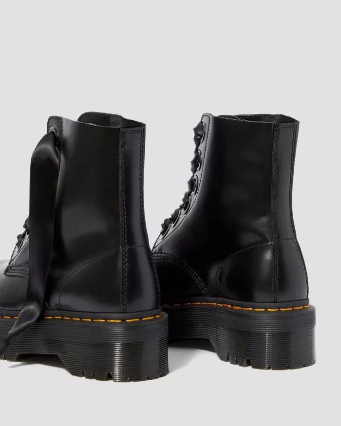 MOLLY LEATHER PLATFORM BOOTS