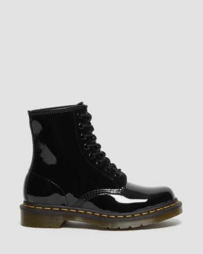 1460 PATENT LEATHER LACE UP BOOTS