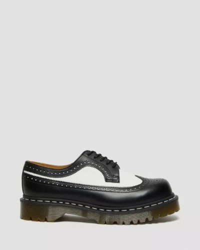 SMOOTH LEATHER BROGUE SHOES