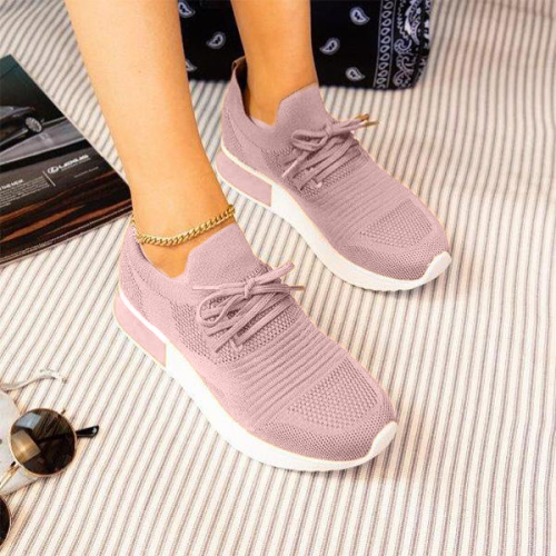 Sporty Soft Mesh Pull-On Sneakers