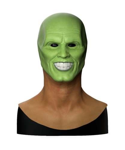 Jim Carrey The Mask Halloween Mask