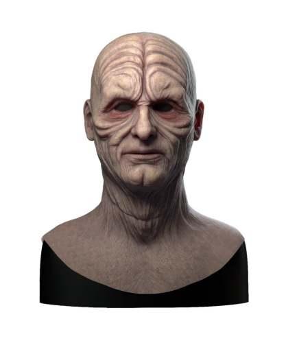 Darth Sidious Emperor Palpatine Star Wars Halloween Mask