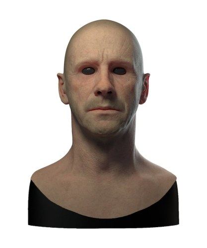 Realistic Man Disguise Mask