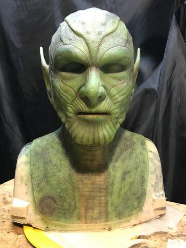 Marvel Skrull Silicone Mask