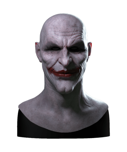 Arkham Joker Halloween Mask