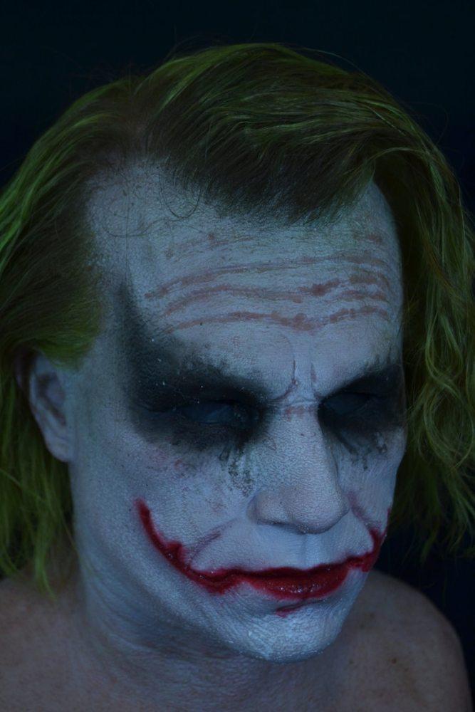 Heath Ledger Joker Halloween Mask
