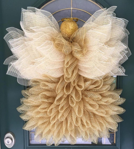 Fall Angel Garland-Noble and unique Home Decoration