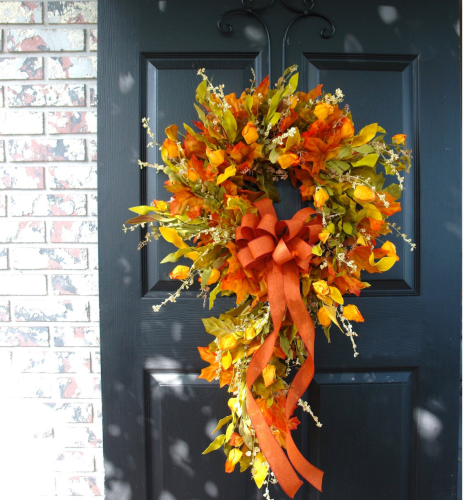 Fall Outdoor Wreaths Swag