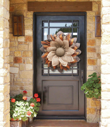 Fall Everyday Wreath - One-of-a-kind Masterpiece