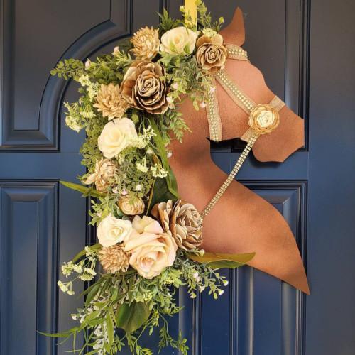 Everyday Horse Equestrian Wreath