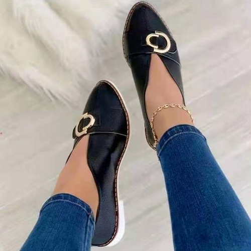 Vintage British Style Loafers