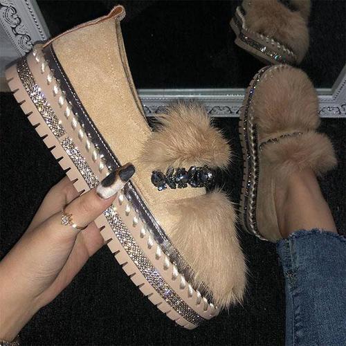 Lazy Rabbit Gur Warm Cotton Shoes