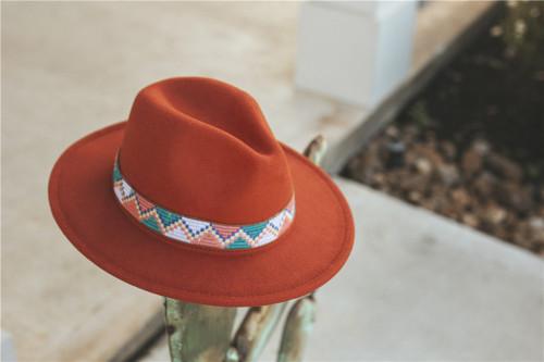 Aztec Felt Hat