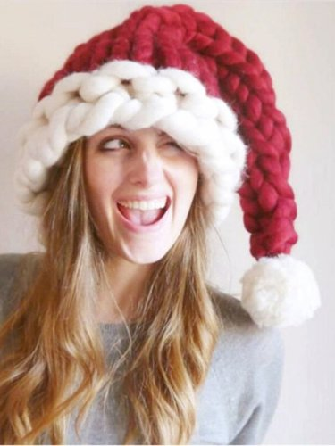 Christmas Simple Woven Hat