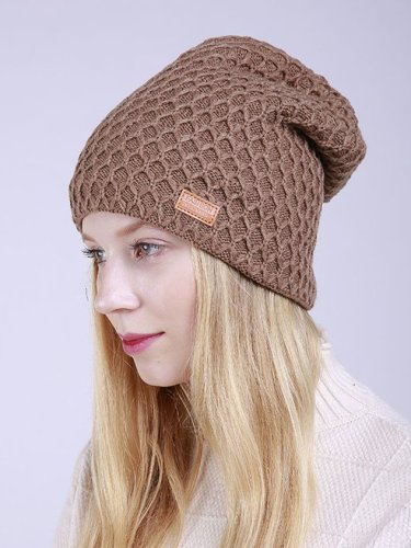 Simple Diamond Check Hat