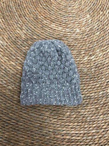 Floral Yarn Warm Hat