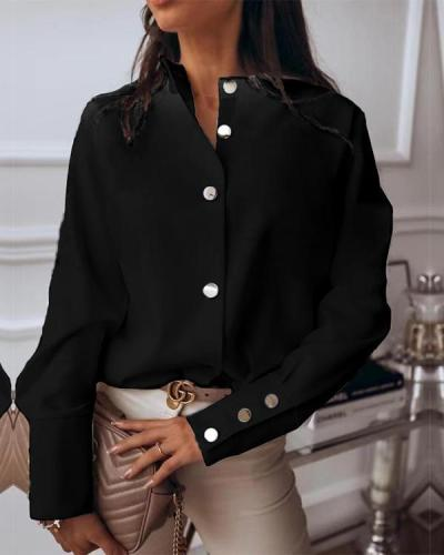 Women's Daily Shirt Spring Summer Blouses