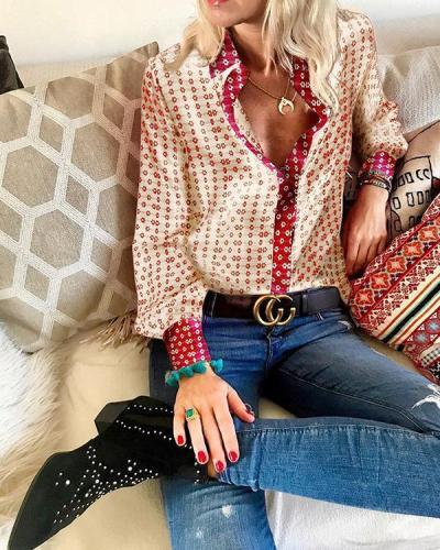 Women's Daily Shirt Spring Summer Fashion Tops