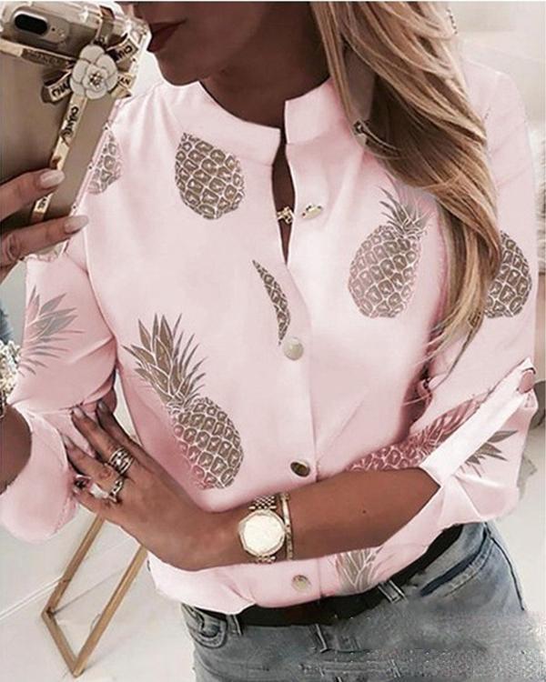 Women's Daily Shirt Casual Blouses