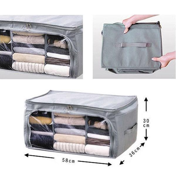 Non-woven Fabrics Clothes Quilt Storage Bag