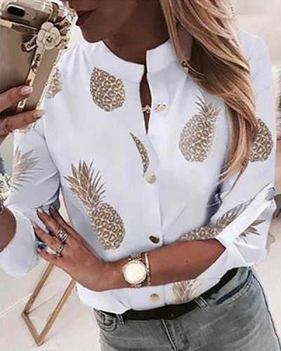 Women's Daily Shirt Casual Blouses