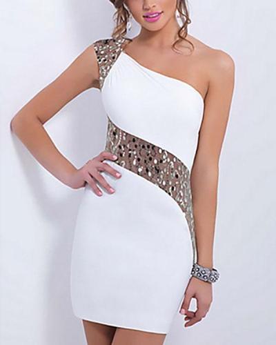 Women's Mini Slim Sheath Dress