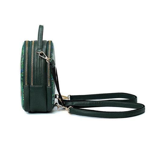 Forest Print Bohemian Multi-function Backpack Travel Crossbody Bag