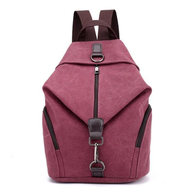 Canvas Vintage Casual Big Capacity Backpack