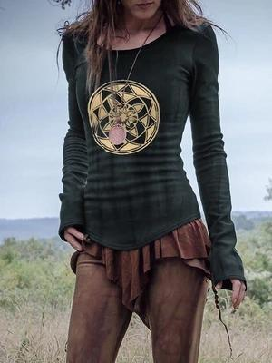 Women's Vintage Sacred Geometry T-Shirt