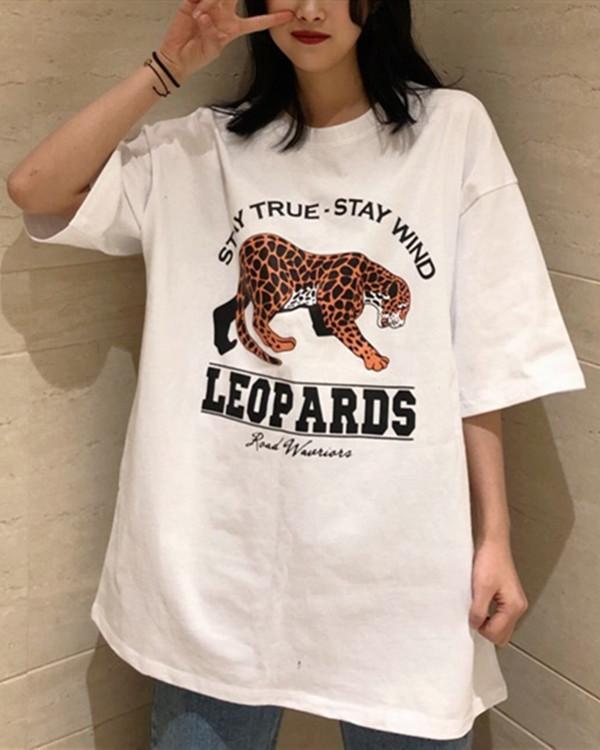 Women's Loose Short-sleeved T-shirt