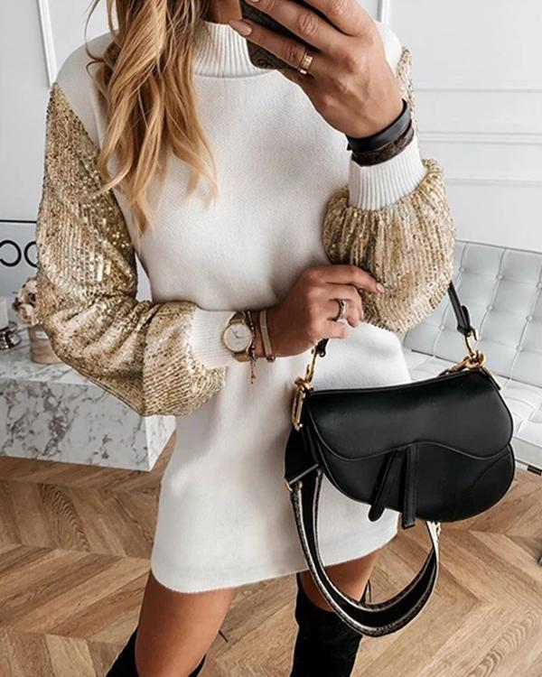 Fashion Hot Sequined Dress