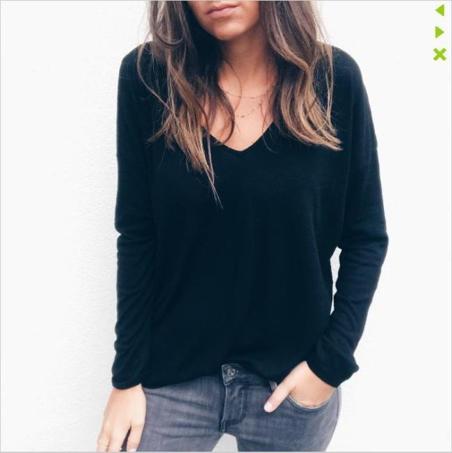 Women Sexy Long Sleeve Tank Blouses