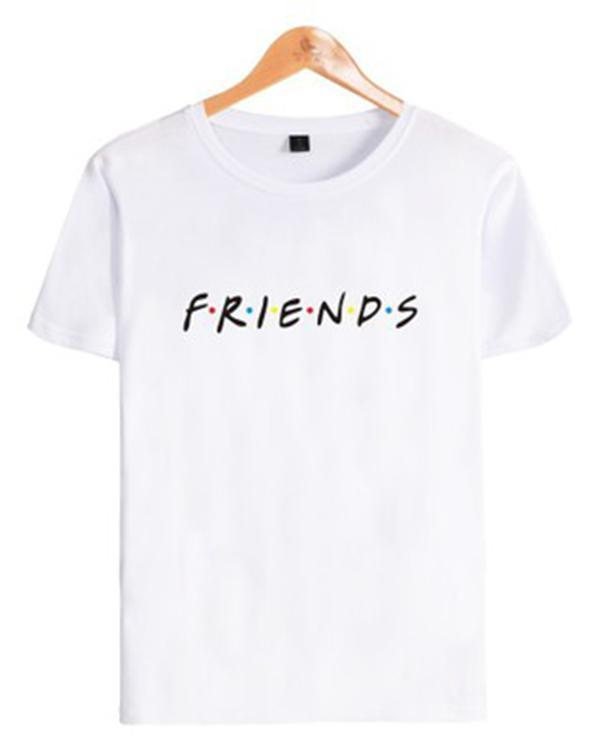Friends Women Printed Daily Shirts Tops