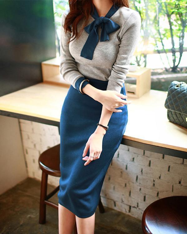 Women Elegant Midi Dresses