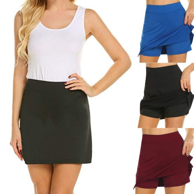 ANTI-CHAFING SLIM ACTIVE SKORT