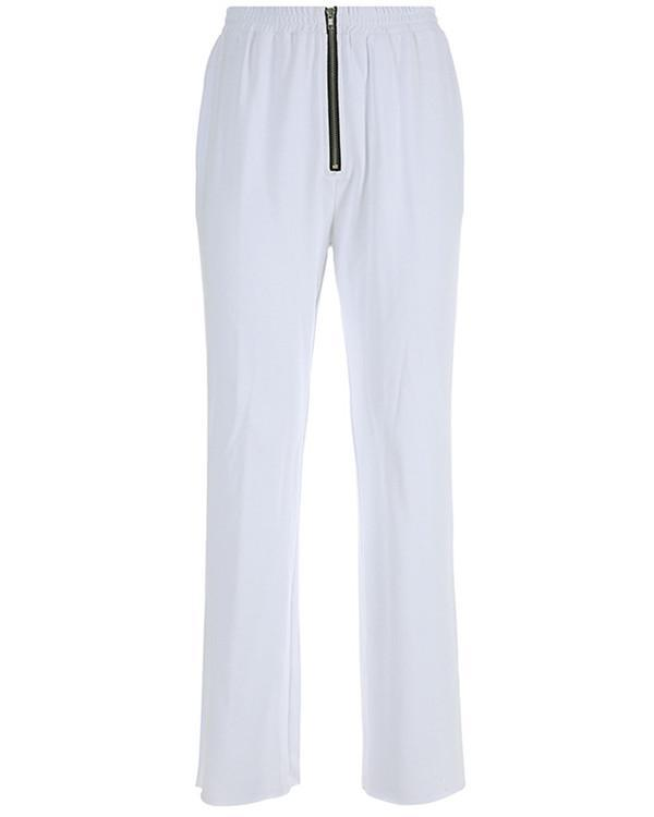 Europe and The United States Tide Brand New Women Models Corduroy Ribbon Straight Pants