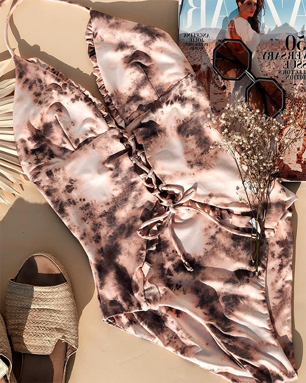 Floral Wire-free One-Piece Swimsuit