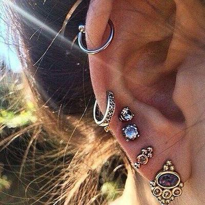 Jewelry-Punk Earrings Sets