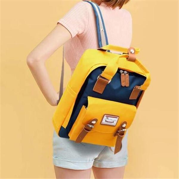 Large Capacity Multi-pocket Oxford Women Backpack Laptop Bag
