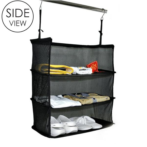 3 Layers Portable Travel Storage Rack Holder